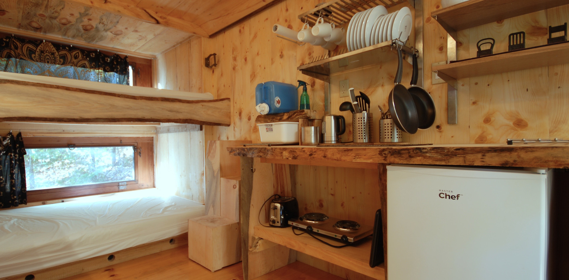 Glamping - Chimo Refuges