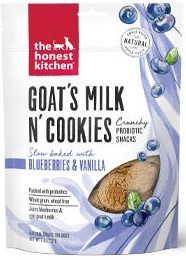 goats milk and cookies probiotic treat.j