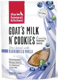 goats milk and cookies probiotic treat.j
