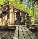 cabanes dan sles arbres
