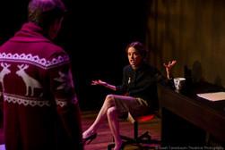 """Masha Dakic in """"Navigator in Love"""" (Isaiah Tanenbaum: Theatrical Photography)"""