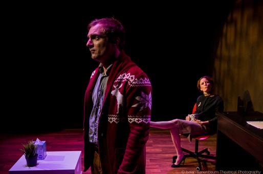 "Michael Propster and Masha Dakic in ""Navigator in Love"" (Isaiah Tanenbaum: Theatrical Photography)"