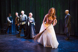 """Claire Brownell as Ophelia in """"Hamlet. A Version"""" (Photo: Jeremy Daniel)"""