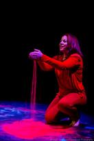 """Tara Giordano in """"A Toy Gun"""" by Tamar Bartaia (Isaiah Tanenbaum: Theatrical Photography)"""