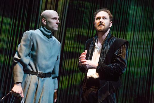 "Khris Lewin and Matt Weiss in ""Hamlet. A Version"" (Photo: Jeremy Daniel)"