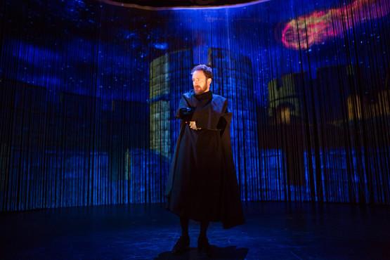 "Matt Weiss in ""Hamlet. A Version"" (Photo: Jeremy Daniel)"