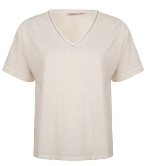 Esqualo Linen Piping Shirt