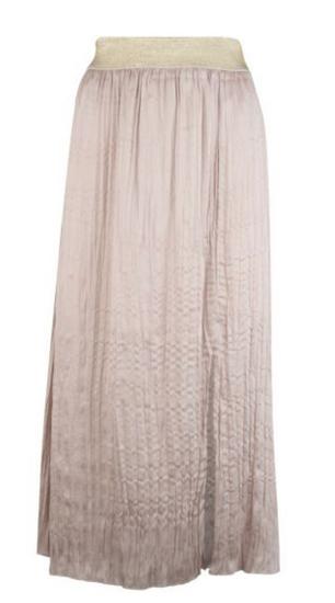 Esqualo Satin Look Skirt