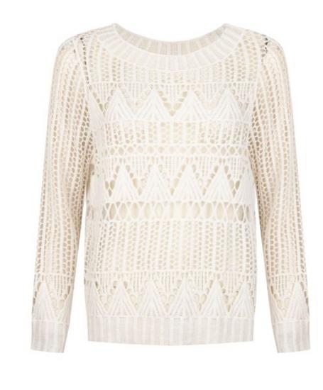 Esqualo Open Knit Sweater