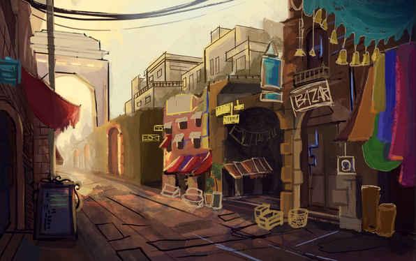 Indian Street WIP