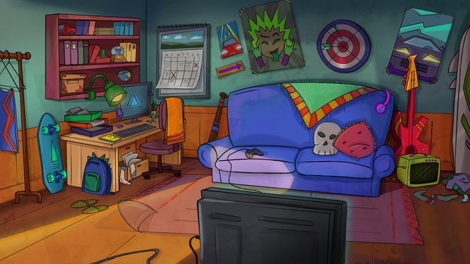 Room Environment Tv Serie Show
