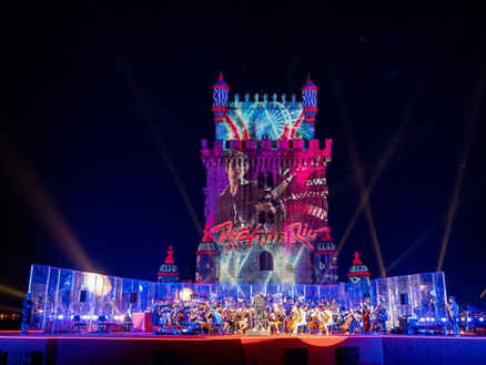 Rock in Rio Lisbon 2019 - Mapping Light Show