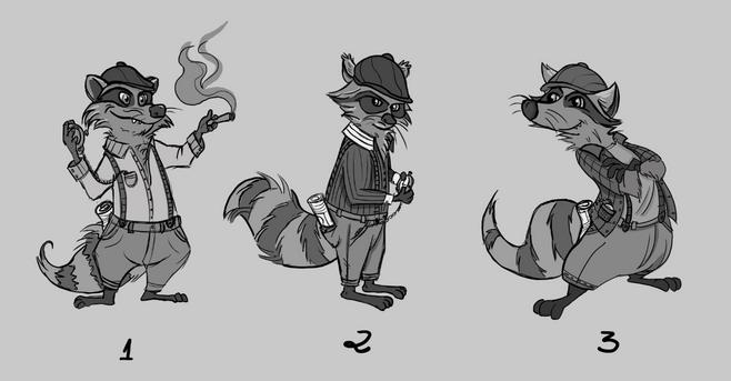 Raccoon thief