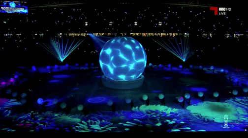 Qatar, Dubai WorldCup 2019 Stadium Live Show