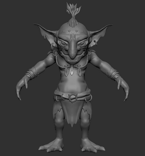 3D Character - Zbrush