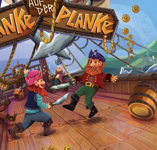 Pirates Illustration - Board Game