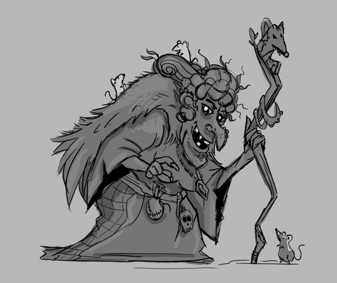Witches and their pets
