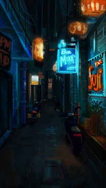 Chinese Alley Environment