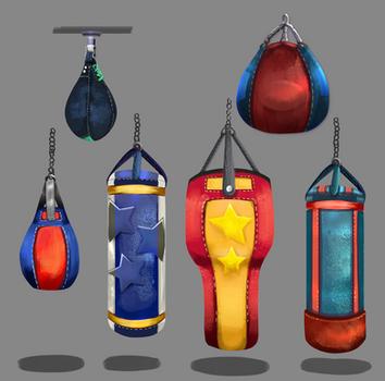 Boxing Bags - Mini Me Boxing Game