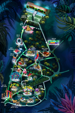 Magical Garden Map