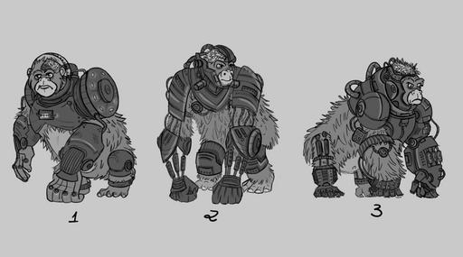 Ape Robot