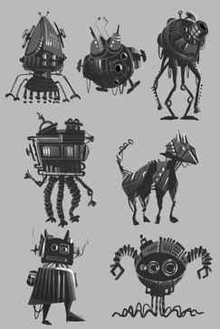 Robots study