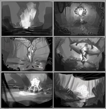 Power source thumbnails