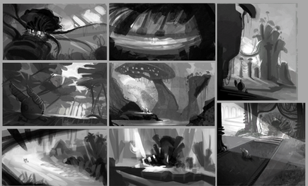 Thumbails for a Game Story