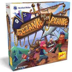 Box Cover Pirates Illustration - Board Game