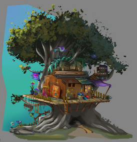 Day Tree House - Details
