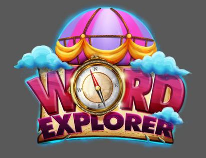 Word explorer game logo