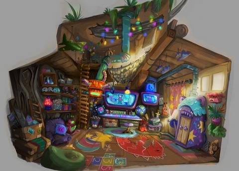 Inside Tree House