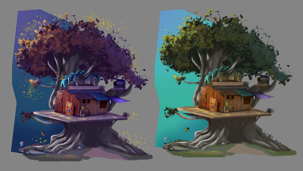 Day and Night Tree House