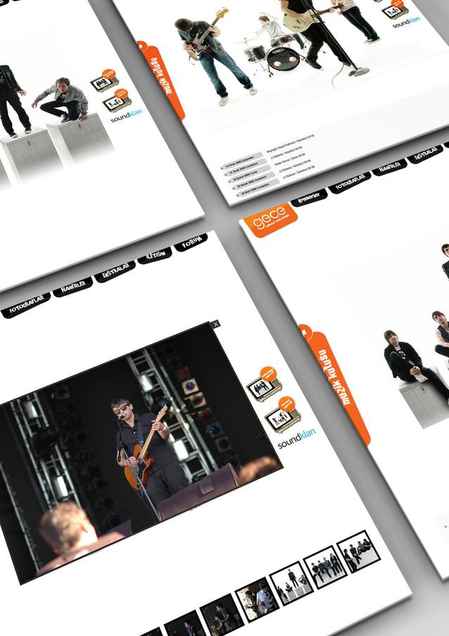 Gece Official Web 2