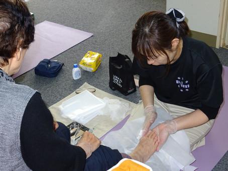 フットケア体験会開催!!