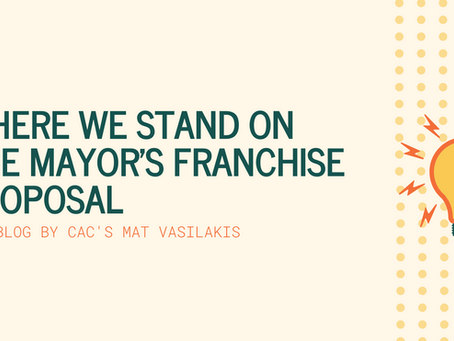 Where We Stand On The Mayor's Franchise Proposal