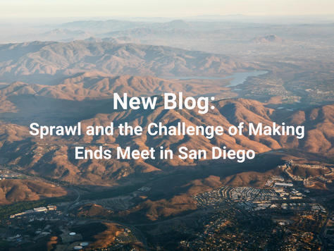 Sprawl and the Challenge of Making Ends Meet in San Diego