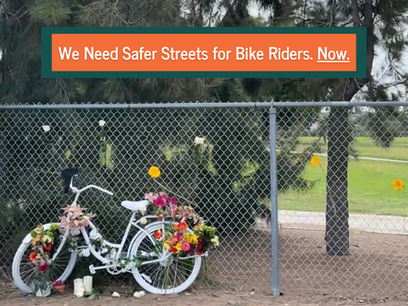 We Need Safer Streets for Bike Riders, Now.