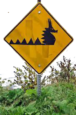 Restaurant Location Sign