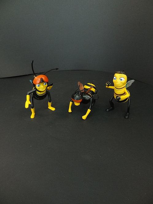 3 abeilles