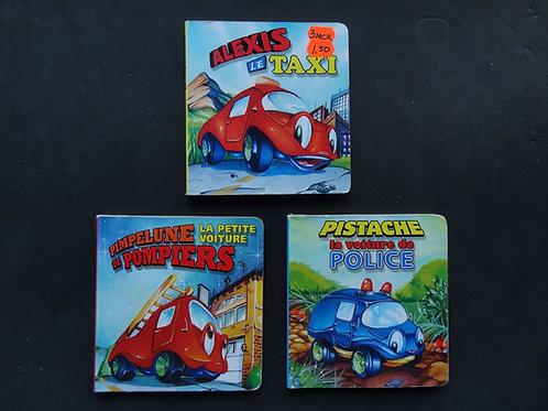 3 petits livres