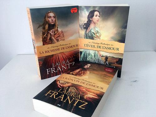 3 livres Laura Frantz