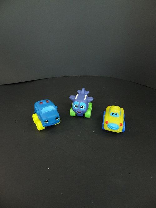 2 voitures, 1 avion
