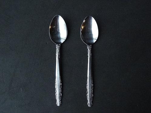 2 Petites cuillères longues