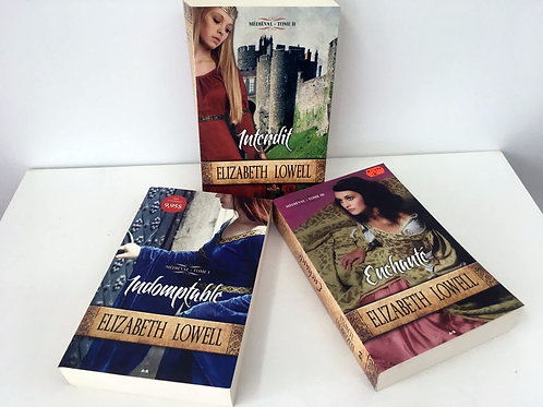 3 livres Elizabeth Lowell