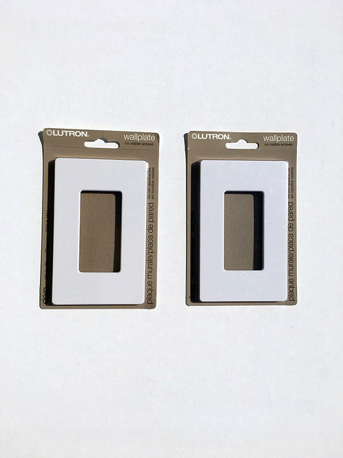2 plaques interrupteurs