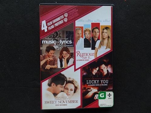 4 Films préférés
