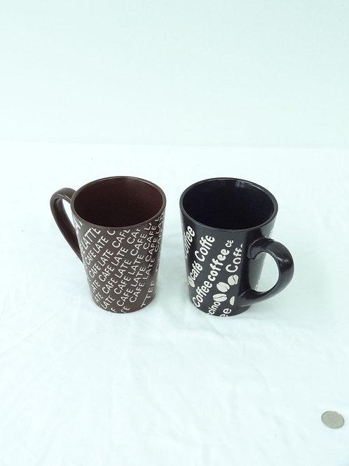 2 Tasses coffee, café