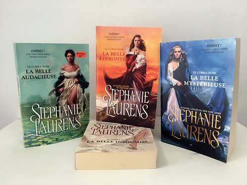 4 livres Stéphanie Laurens