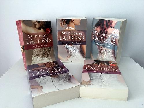 5 livres Stéphanie Laurens